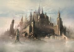 cool mythical castle Google Search Fantasy castle