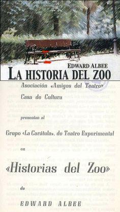 """""""Historias del Zoo"""" de Edward Albee por el Grupo """"La Carátula"""" de Teatro Experimental en la Casa de Cultura Cuenca Marzo 1972 organizado por la Asociación Amigos del Teatro #Cuenca #Teatro #CasaCulturaCuenca #AsociacionAmigosTeatroCuenca #GrupoLaCaratula"""