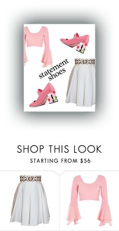 """""""Untitled #180"""" by aharxn ❤ liked on Polyvore featuring Balizza, River Island and Prada"""