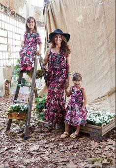 Giovanna Antonelli e as filhas gêmeas, Antônia e Sofia, estrelam a campanha de Dia das Mães da Leader