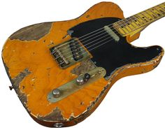 4abeb6d606479d8d5ff22de52b97b152 guitars bill obrien the nash t 52 in butterscotch blonde is a vintage tele model from Guitar Wiring Diagram Two Humbuckers at alyssarenee.co