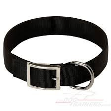 We are manufactures of dog collor. black dog collor for your dog.available at us.  For more details click on the below link or call us on +9833884973/9323558399  Courtsey : Tapes Webbing straps  http://tapeswebbingstraps.in.cp-28.webhostbox.net/