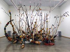 "Kari Södö, ""Animi Cultura"", mixed media on wood, 2014 Mixed Media, Sculptures, Wood, Painting, Art, Art Background, Woodwind Instrument, Timber Wood, Painting Art"