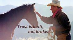 Trust is built, not broken