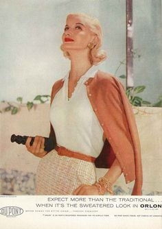 Sunny Harnett in December Vogue 1955