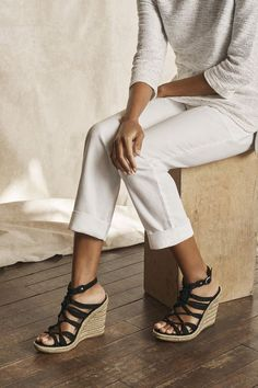 Wedges are a very popular type of heels that women simply love. They go very well with almost all types of dresses, pants, skirts, shorts and jeans. Wedges are trendybut something that I like more than style is comfort. We women generally endure pain to be fashionable. But with the summers here, I think it …