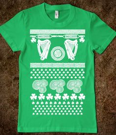 Ugly St Patricks Day Sweater Tshirt