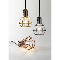 Design House Stockholm - Work Lamp Pendelleuchte | nunido.