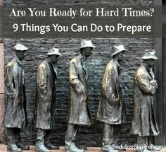 9 Things You Can Do Now to Prepare for Hard Times - Backdoor Survival