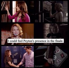 #OTH #Peytons presence #one tree hill finale