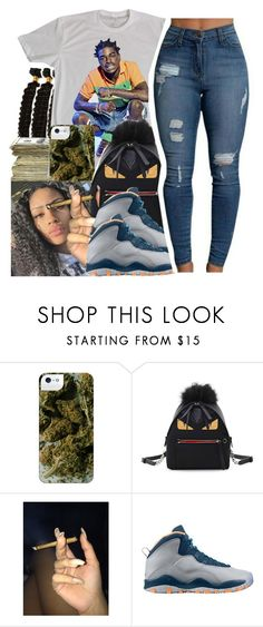 """untitled #115"" by yani122 ❤ liked on Polyvore featuring SEN, Fendi and Retrò"