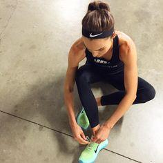 """I wasn't a runner until I was @nikewomen #betterforit #sundayrunday #freeyourself"""