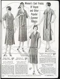 Source: Article Advertisement, 1924, Fashion. In this newspaper advertisement/article, it shows an advertisement of Woman's cool frocks of rayon and other popular summer fabrics for the upcoming season of the summertime. In the 1920s, magazines and newspapers were quite big and this advertisement would have caught many women's eyes because fashion was also a large context back then.
