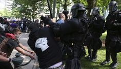 "The True Face of Fascism: 14 Arrested in Portland Epitomize Fascism.  In a shocking display of hypocrisy, 14 ""anti-fa[scism]"" protestors were arrested in Oregon on Sunday for attempting to suppress their opposition, the very definition of fascism.  If you like it... share it! https://2anews.us/freedom-speech/2017/06/05/true-face-fascism-14-arrested-portland-epitomize-fascism/  #Fascism, #Free_Speech_Rally, #Jeremy_Christian, #Metro_Rail, #Portland, #Portland_Liberals,"