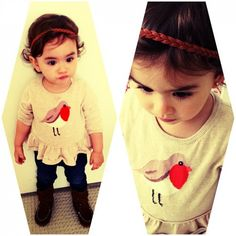 Baby style. How cute.