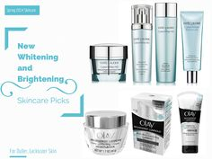 New Whitening and Brightening Skincare from Estee Lauder & Olay
