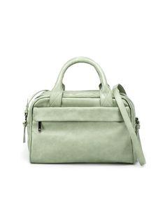 DOUBLE ZIP BOWLING BAG - Handbags - Woman - Shoes - ZARA United States