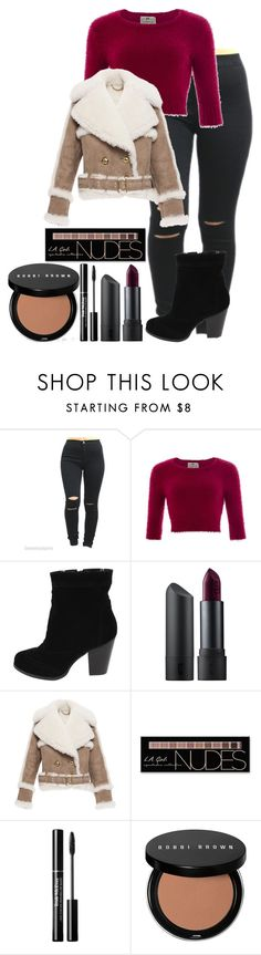 """""""Untitled #419"""" by ines-321 ❤ liked on Polyvore featuring Collectif, Bite, Burberry, Charlotte Russe and Bobbi Brown Cosmetics"""