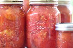 Como hacer tus propios tomates envasados