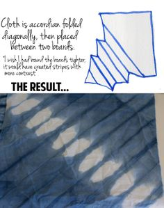 The Aestate: DIY Shibori with Indigo Dye Tutorial