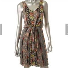 Jessica Simpson tie front dress New without tags great for the summer size six Jessica Simpson Dresses