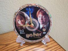 HARRY POTTER DVD Desk Clock The Sorcerer's by RecordsAndStuff, $20.00