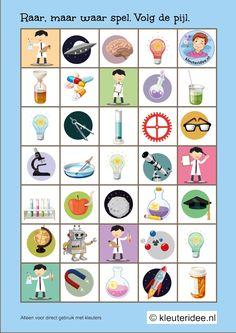 Raar, maar waar spel voor kleuters, volg de pijl, kleuteridee.nl, free printable, kinderboekenweek 2015