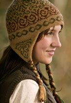 Swirly Gig Earflap Hat Pattern