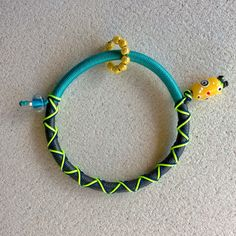 """Winter 2014 Casual collection """"Evil Eye"""" yellow eye grey-turquoise"""