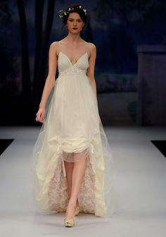 Irregular wedding dress