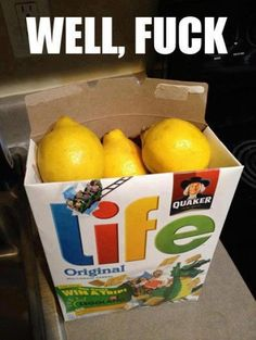 Put a piece of paper under the lemons that says just kidding and hides the real gift