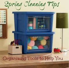 Spring cleaning and Organizing Tools with Rubbermaid® All AccessTM Organizers