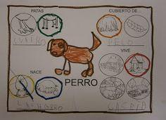 El equipo azul escogió, entre todos los animales de granja, EL PERRO . Así que lo primero de todo, este equipo dibujo un PERRO . A...