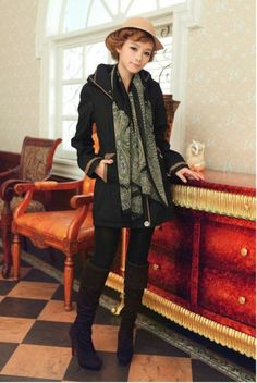 Women's Casual Fashion Loose Coat on BuyTrends.com, only price $41.40