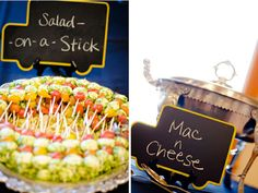 Uses for chalk and chalkboards at weddings