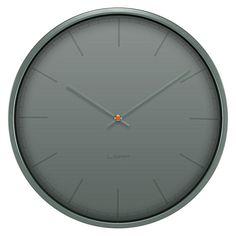 Tone Wall Clock, 35cm by Leff | Zanui ($180)