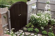 Come see my BIG REVEAL! I turned my side yard into a secret garden!this is what i want to do to my side yard! Spring Garden, Home And Garden, Dream Garden, Inside Garden, Corner Garden, Garden Living, My Secret Garden, Secret Gardens, Gate Design