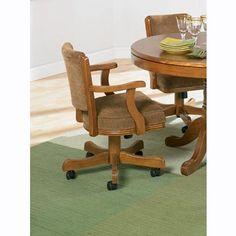 Casual Oak Game Chair - Coaster 100952