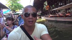 Thailand: Exploring the Floating Markets just outside of Bangkok!