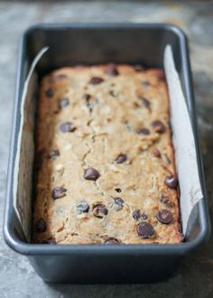 An easy to make, healthy banana bread made with coconut flour, no butter or refined sugar added! A fun and delicious way to use coconut flour!