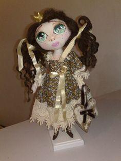 III PAP Cabelos de boneca com feltragem