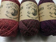 TRIO Wool sock yarn set of 3x50g 100% WOOL Great for knitting