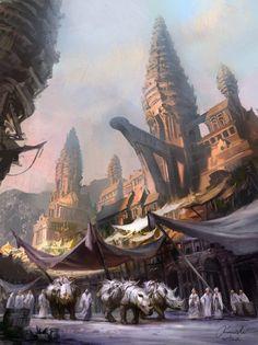 Rhino utopia. Posted on cruzine.com (image credit Mateusz Ozminski) by Paul Viluda.