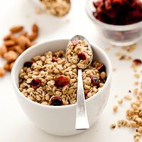 Granola Deconstructed | Basic Granola Recipe (Gluten-Free). Light and crisp while also being crunchy and clustered.