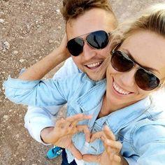 Maj 🍀 My 💏 Mój ❤️ . #couplegoals  #couple #couplegoals💑 #couplephotography #love #❤️ Mozzarella, Salsa, Sunglasses, Couple, Tarts, Shades, Sunnies, Wayfarer Sunglasses, Eye Glasses