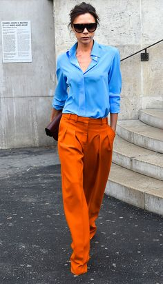 blue and orange #mod