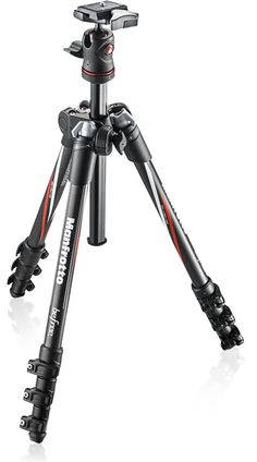 Manfrotto BeFree.  Great lightweight tripod, perfect for day hikes, portrait taking, landscapes, and essential for night photography.