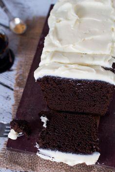 Dark and Sticky Gingerbread Cake