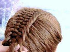 peinado para ninas con trenza de 4 cabos de medio lado facil de hacer - YouTube Dreadlocks, Hair Styles, Youtube, Beauty, Fashion, Spiral Braid, Girls Braids, Child Hairstyles, Girls Hairdos
