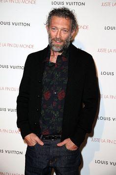 Vincent Cassel Vincent Cassel, Louis Vuitton, Hollywood Stars, Popsugar, Cute Guys, Nice Dresses, Bomber Jacket, Celebs, Mens Fashion